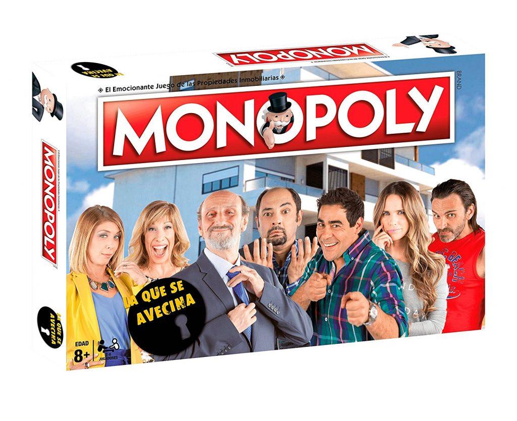 Caja del Monopoly de La Que Se Avecina