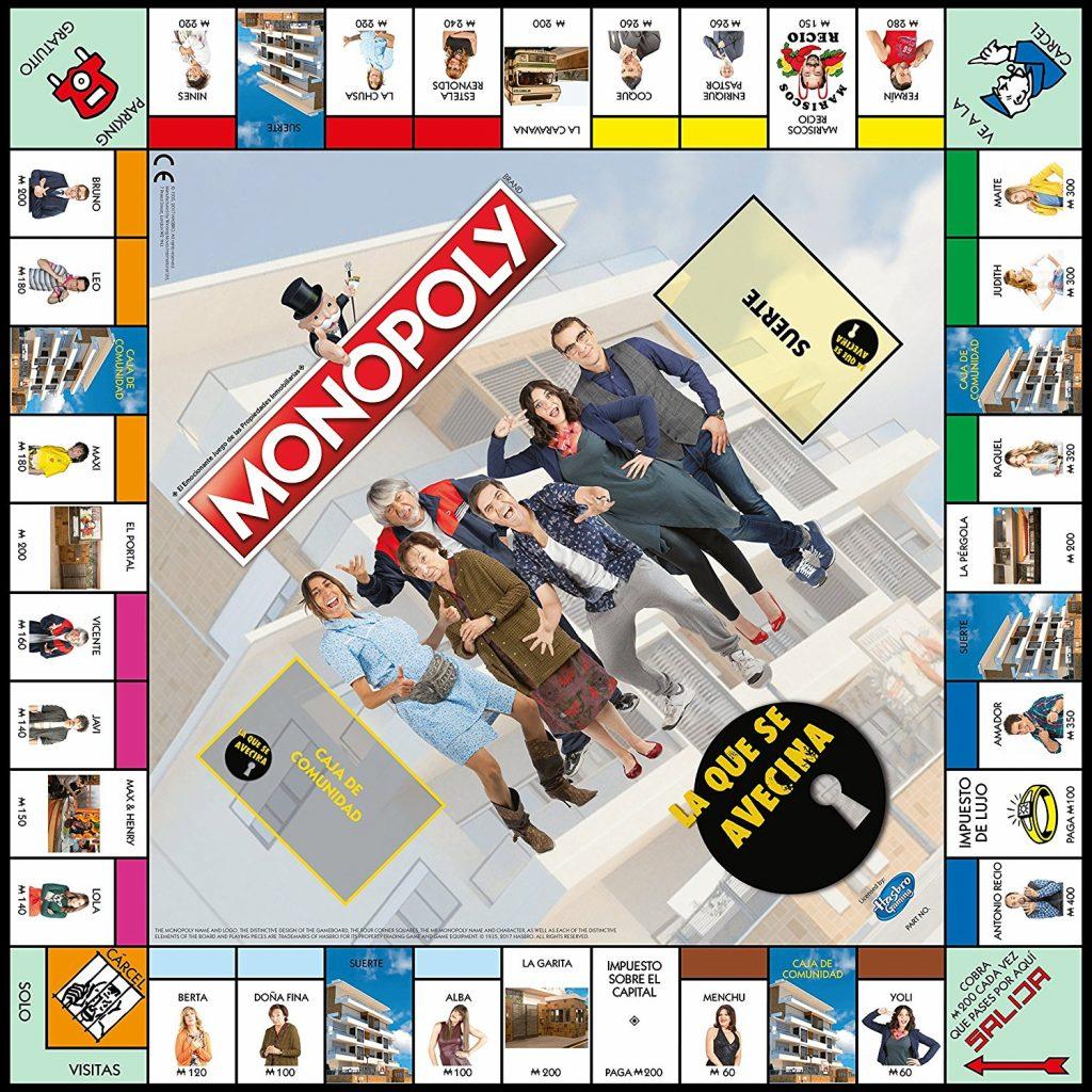 Tablero del Monopoly LQSA