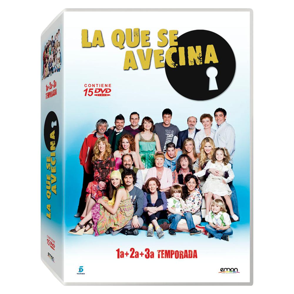 DVD Temporadas 1, 2 y 3