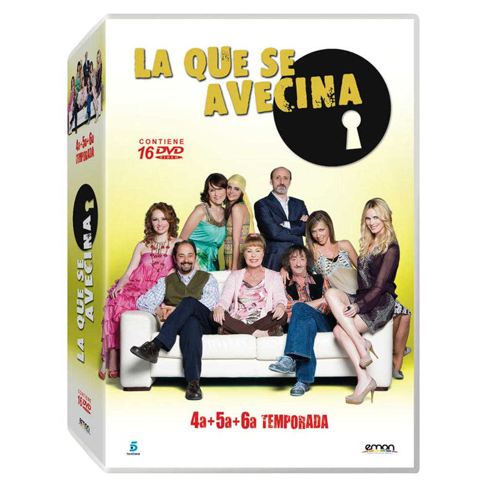 DVD Temporadas 4, 5 y 6