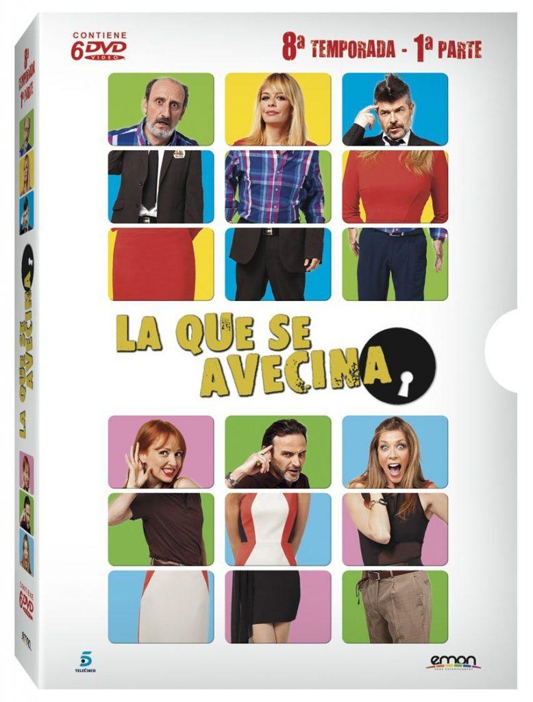 DVD Temporada 8 Parte 1