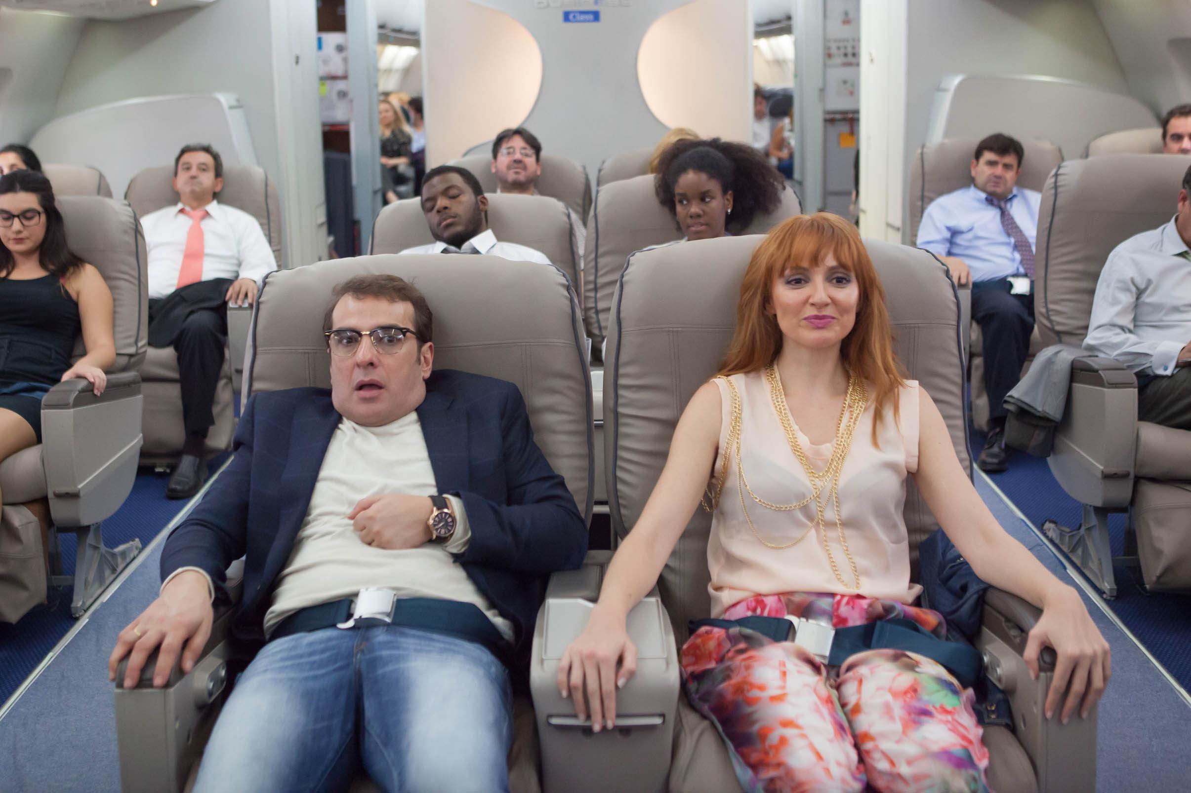 Bruno asustado por viajar en Avión