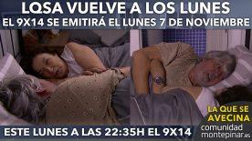 LQSA 9x14 el Lunes
