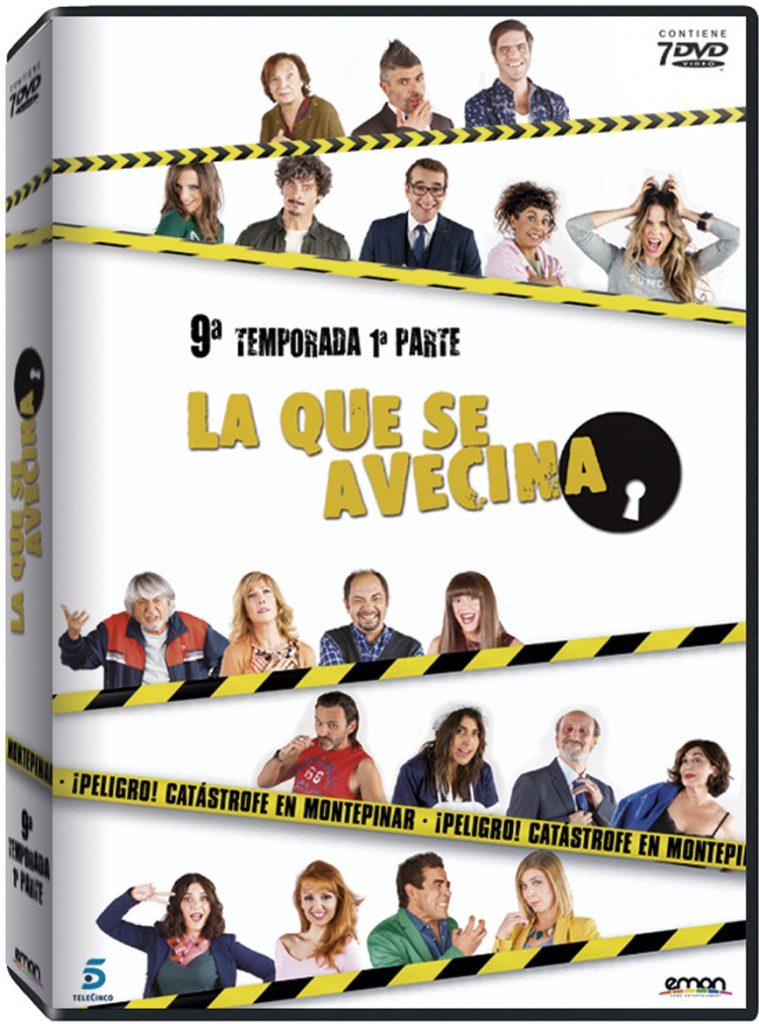 DVD Temporada 9 Parte 1