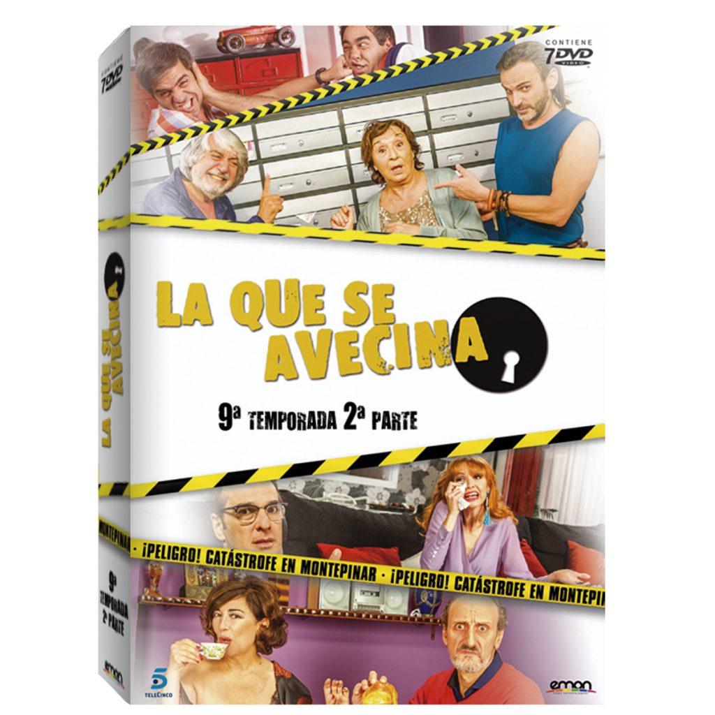 DVD Temporada 9 Parte 2