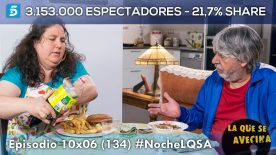 LQSA 10x06 - Audiencias