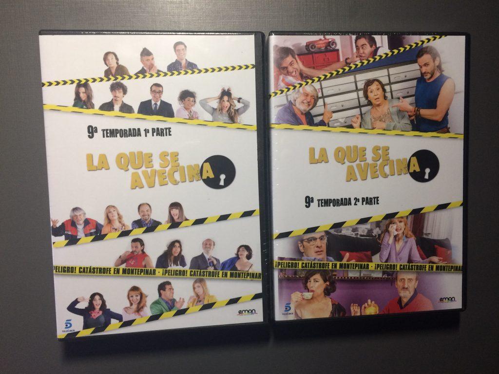 LQSA Temporada 9 en DVD