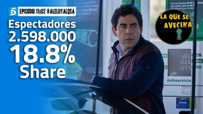 LQSA 11x02 - Audiencias
