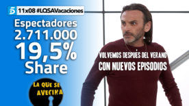 LQSA 11x08 - Audiencias