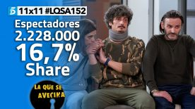 LQSA 11x11 - Audiencias
