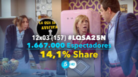 LQSA 12x03 - Audiencias