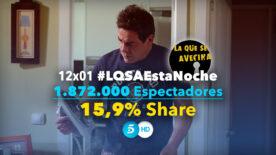 LQSA 12x01 - Audiencias