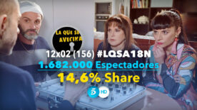 LQSA 12x02 - Audiencias