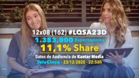 LQSA 12x08 - Audiencias