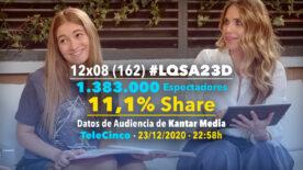 LQSA 12x08 - Audiencias