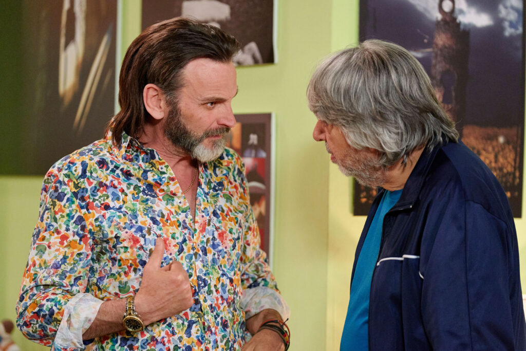 LQSA 12x08 - Fermín habla con Vicente