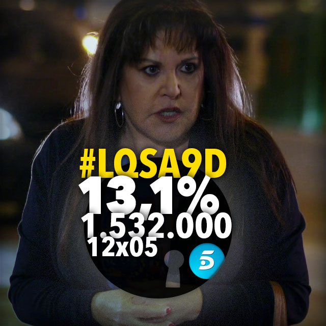 LQSA 12x05 - Audiencias