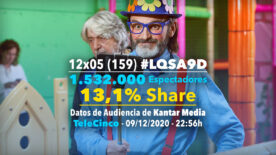 LQSA 12x05 - Audiencias