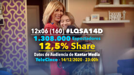 LQSA 12x06 - Audiencias