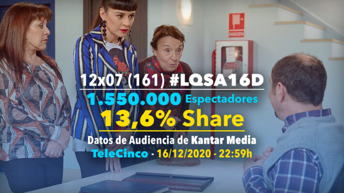 LQSA 12x07 - Audiencias